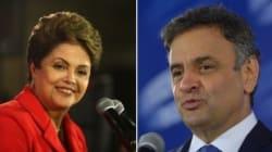 Dilma vê Aécio reduzir vantagem no Datafolha, que aponta empate técnico no limite da margem de