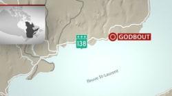 Un accident et un déversement d'essence à Godbout sur la