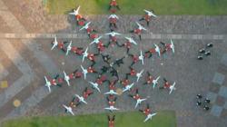 OK Go dévoile le clip de «I Won't Let You Down» tourné avec un drone