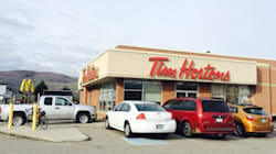 Tim Hortons Customers Splattered With Blood: