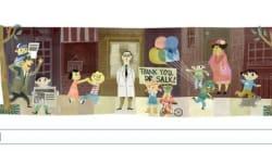 10月28日のGoogleのトップページと日本の関係