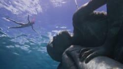 Spectaculaire sculpture sous-marine à découvrir aux