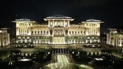 Découvrez le nouveau palais gigantesque d'Erdogan en