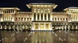 Turquie: le président inaugure son controversé «palais blanc»