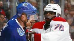 Le Canadien s'incline 3-2 en prolongation contre les Canucks