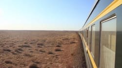 シベリア鉄道に乗って。たった10分の