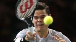 Raonic défait Federer et peut encore accéder aux Finales