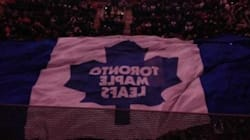LOOK: Leafs' Flag Hangs Upside Down During