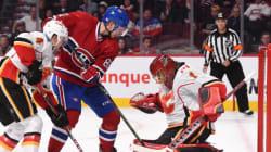 Le Canadien est bafoué par les Flames à son retour à