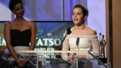 Emma Watson dédie un prix à... son hamster mort