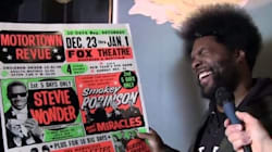 WATCH: How Nardwuar Made Questlove Adore