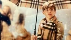 Romeo Beckham au coeur de la campagne de Noël de Burberry