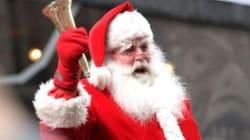 22 novembre : le Père Noël arrive en