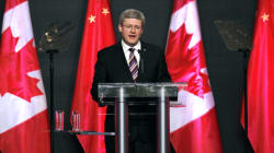 Harper To Focus On Trade During China