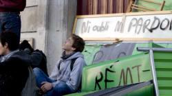 Des lycées bloqués à Paris en réaction à la mort de Rémi