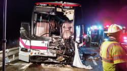 Toronto-New York Bus Crash Sends Dozens To