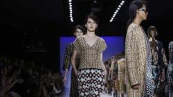 'Minimalismo, Uzbequistão e luxo esportivo nas passarelas do
