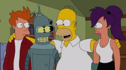 Simpson + Futurama =