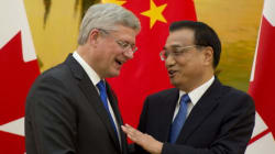 Harper, Chinese Officials Sign Deals Worth As Much As $2.5