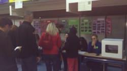 Así ha sido la apertura de un colegio del 9-N (FOTOS,