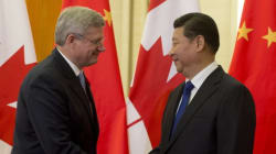 Harper Meets With Chinese President Xi