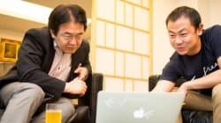 竹中平蔵氏がfreee社長・佐々木大輔氏と語る「テクノロジーでビジネスを効率化する未来」