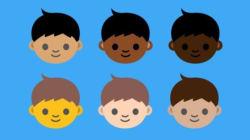 Emojis terão 5 novos tons de
