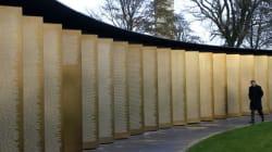 Jour du Souvenir: l'Anneau de la Mémoire, un mémorial pour 580 000 soldats