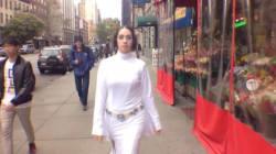 Princesse Leia aussi se fait harceler dans les rues de New