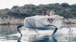 Ce bateau du futur vole sur