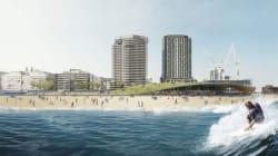 Une piscine à vagues pour surfer en plein centre-ville de