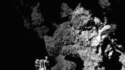 Voici la première photo envoyée depuis la comète par