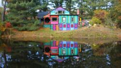 Une incroyable maison aux couleurs de