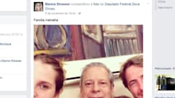 'Ela foi presa por tráfico de drogas e critica foto de José Dirceu em rede