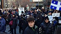 Manifestation à Montréal contre le Plan Nord et les projets
