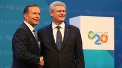 G20: Stephen Harper quitte l'Australie