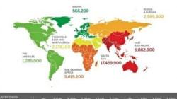 Nel Mondo ci sono 36 milioni di persone che vivono in schiavitù