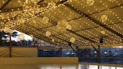 Victoria Hotel Unveils Holiday Skating