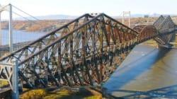 Pont de Québec: les gouvernements avancent 100 millions $ et font appel au