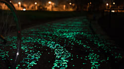 Glow-In-The-Dark Bike Path Could Come To