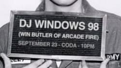 Win Butler d'Arcade Fire à Montréal vendredi avec son projet solo DJ Windows