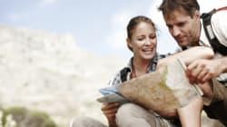 美大生の関心、山脈地形図、砂漠のオアシス