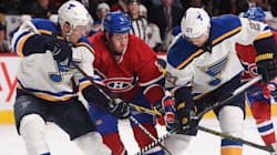 Le Canadien bat les Blues