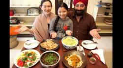 北インド・デリーの家庭料理、神聖な香草「ホーリーバジル」も気軽にいただく