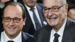 Hollande et Chirac, deux destins qui ne cessent de se