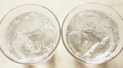 O copo usado de extrato de