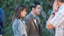 Lea Michele recouverte d'oeufs en tournant «Glee»!