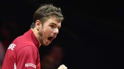 Coupe Davis: premier point pour la Suisse face aux