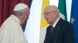 Visita a sorpresa di Napolitano a Papa