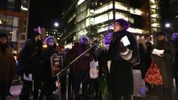 Manifestation À nous la nuit! : la violence faite aux femmes dans la mire